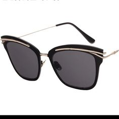 Coming soon Semi Cat eye Sunglasses~limited pcs~ Perfectly on trend this summer! Very limited quantity. 2 pcs each so pls comment if you're interested and I will reserve one for you.  Boutique Accessories Sunglasses