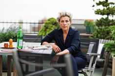 """Looking old, she said, should be a boast about experiences accrued and insights acquired, a triumphant signal ""that you are someone who, beneath that white hair, has a card catalog of valuable information.""  -Frances McDormand"