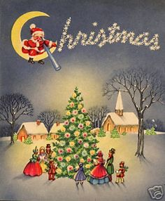 Would love to see Christmas  for children like this again.Not very many ever gather around the tree for family time as this.