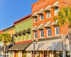 Downtown Brunswick, GA. - Friday welcome dinner will be at Hattie's Books