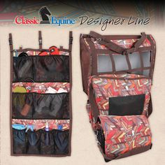 Classic Equine Feathers Boot/Accessory Tote - W3 Cowgirl Trading Co.