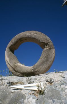 Large stone rings known so far only in Gobekli Tepe. Their function is still completely unknown.