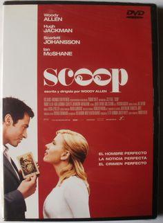 SCOOP - DVD - Scarlett Johansson, Woody Allen, Hugh Jackman, Ian Mcshane