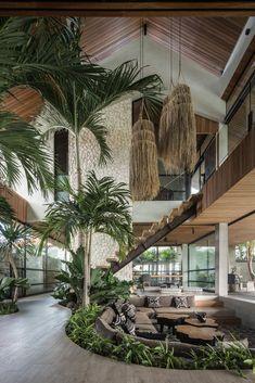 Dream Home Design, Modern House Design, My Dream Home, Home Interior Design, Interior Architecture, Dream Homes, Exterior Design, Loft House Design, Tropical Architecture
