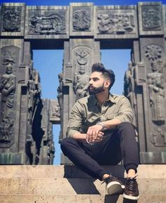 Fitness Freak Director Actor Model He Perfect In All thing Parmish Verma Parmish Verma Beard, Punjabi Boys, Fashion Photography Poses, Stylish Boys, Boy Poses, Actor Model, Champion, Handsome, Singer