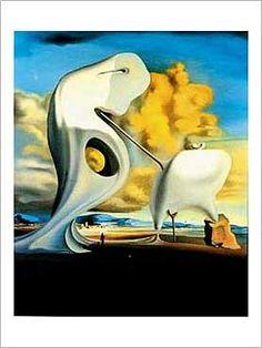 Salvador Dalí - Das architektonische Angelusläuten von Millet