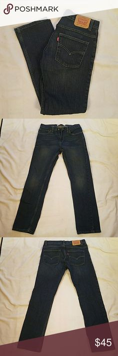 Like New Levi's for boys Like New. Size 29wx29l Levi's Bottoms Jeans