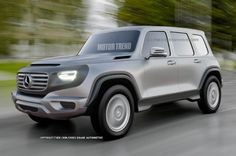 2017 Mercedes G-Class Could Look Like Ener-G-Force - Motor Trend WOT