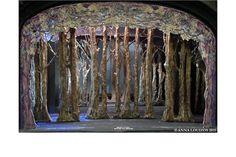 Cinderella Broadway, Broadway Theatre, Victoria Clark, Oscar Hammerstein Ii, Laura Osnes, Tunnel Book, Scenic Design, Wood Design, Anna