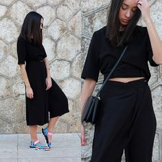 10 Rad Ways To Style Your Black Culottes