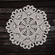 Excited to share the latest addition to my #etsy shop: LOST IN WEB Crochet Napkin Med http://etsy.me/2CjoonA #housewares #homedecor #white #crochet #napkin #handmade #knit #design #interior #forsale #home