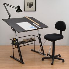 Studio Designs Zenith Drafting Set - Black - About Studio Designs Founded in 1985 in Pico Rivera, Calif., Studio Designs (formerly Studio RTA) offers a wide range of products, including...