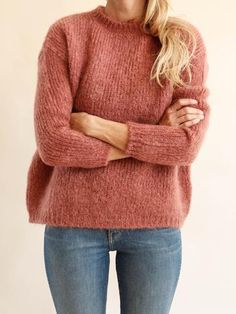 Pomandère - Mohair Sweater - Rose
