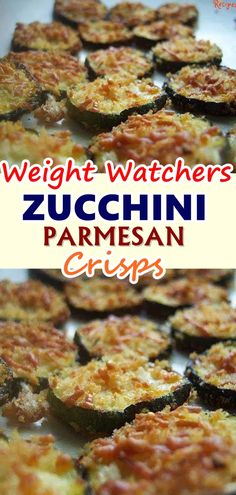 Baked Parmesan Zucchini Crisps are a highly addictive snack that is simple to ma. Baked Parmesan Zucchini Crisps are a highly addictive snack that is simple to make with just two in Parmesan Zucchini Chips, Zucchini Crisps, Zuchinni Recipes, Parmesan Recipes, Weight Watchers Zucchini, Weight Watchers Meals, Skinny Recipes, Ww Recipes, Cooking Recipes