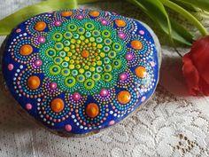 hand painted stones mandala art yoga altars by RockYourWorld7