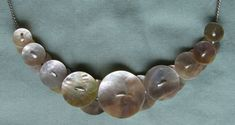 button necklace - Google Search