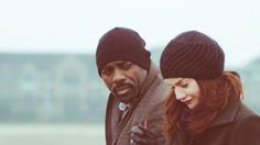 Hotness= Idris Elba and Ruth Wilson a.k.a. John Luther and Alice Morgan