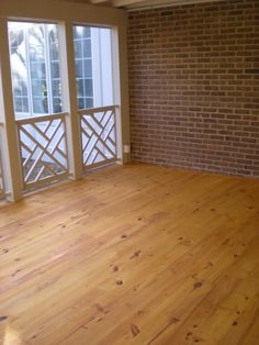 Screened Porch Redo with chippendale border