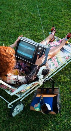 Tuned-In | US VOGUE MARCH 2013 | Going To Pieces | Photographer: Alex Prager | cynthia reccord