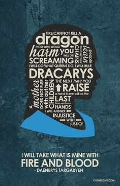 Game of Thrones (2011–) ~ TV Series Quotes Poster by Stephen Poon #amusementphile