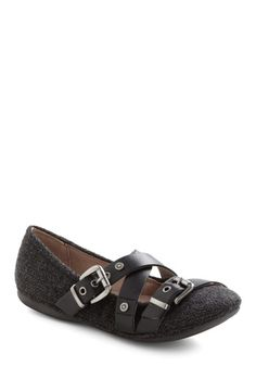 Strappy Hour Flat $99.99 #ModCloth