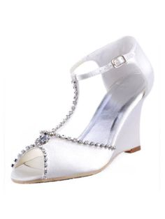 MC-032 Ivory Peep Toe T Strap Rhinestones Wedge Heel Shoes Satin Women Wedding Sandals US 4 Elegantpark,http://www.amazon.com/dp/B00HRSEXII/ref=cm_sw_r_pi_dp_bZf3sb03RW3MXT9M