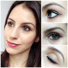 Tutorial Delineado Colorido   New in Makeup