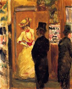After The Theater ~ Pierre Bonnard ~ (French: 1867-1947)