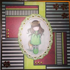 Gorjuss card created by Leanne roebuck
