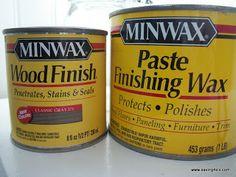 Saving 4 Six: How To Make Dark Wax For Furniture