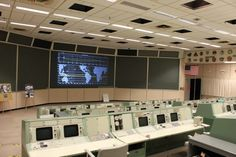 Nasa Mission Control 1960's: toured in 2011--- Elizabeth's first trip to NASA. More to come, Cape Canaveral is next-- I hope!