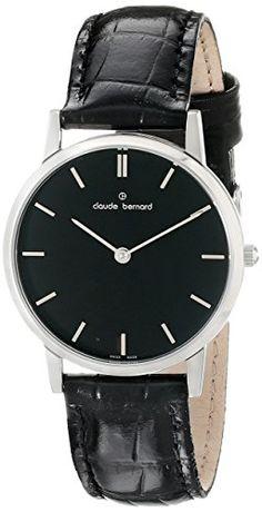 950ddc562123 Amazon.com.mx  Opciones de compra  Claude Bernard Reloj de 20060 – 3 NIN  Classic – Slim Line Analog Display Swiss Quartz dama negro para mujer