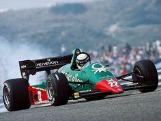 1984 Benetton Alfa Romeo 184T Riccardo Patrese