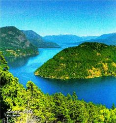 Lacar Lake Argentina