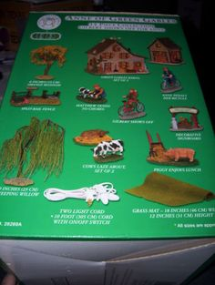NIB-Lemax-Anne-of-Green-Gables-14-Piece-Gilbert-Shows-Off-Farm-Collection-Set