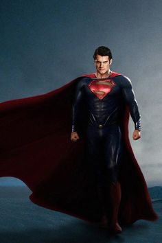 The Man of Steel... Henry Cavill... loved this movie. I'm a die-hard Superman fan, but Henry Cavill was yummy.