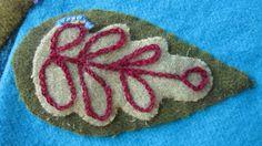 Sue Spargo leaf