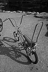 Panoramio - Photo of cool retro bike ( expand the photo larger..bottom right corner)