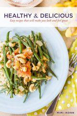 Healthy & Delicious Recipes- gluten, dairy and sugar free!