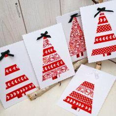 BorsaBox: Karácsonyi üdvözlőlap- Készíts dekorációs ragasztószalaggal üdvözlőlapot