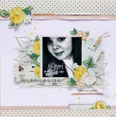 memories layout for scrapfx - crate paper open book
