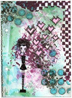 Stempels, inkt en nog veel meer!: hartjes