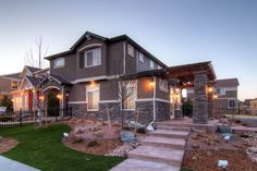 houses that look like cabin | Rio Grande home in Park House Model Complex | Oakwood Homes