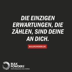 Bulk Powders Fitness Motivation! Sport Bodybuilding Abnehmen Fitspo Erwartungen Leben Weisheit