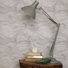 love this so much! Abigail Edwards Seascape wallpaper. Maybe as an accent wall....