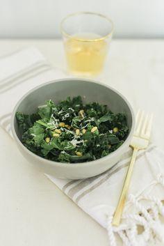 Light & Fresh Honey Lemon Kale Salad