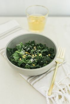 Light & Fresh Honey Lemon Kale Salad