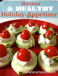 Healthy & Quick Appetizer Recipe with Ranch