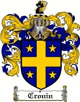 Cronin Family Crest / Cronin Coat of Arms