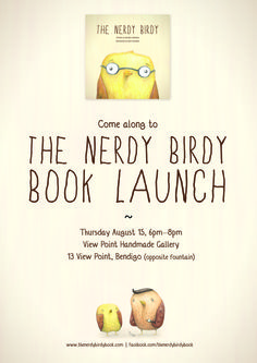 The Nerdy Birdy Book Launch @ VPHG